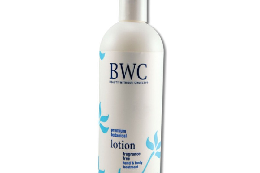 Beauty Without Cruelty Fragrance Free Hand & Body Lotion