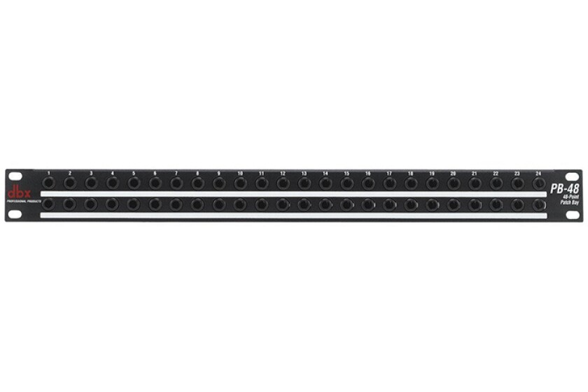 dbx PB-48 48-Point Patchbay