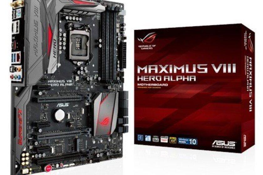 Asus Rog Maximus VIII Hero Alpha ATX DDR4 3000 LGA 1151 Motherboard