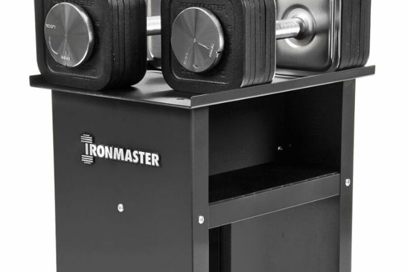 Ironmaster 75 lb Quick Lock Adjustable Dumbbell System