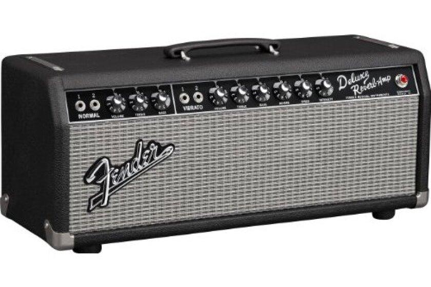 Fender 65 Deluxe Reverb Head Guitar Amplifier Head