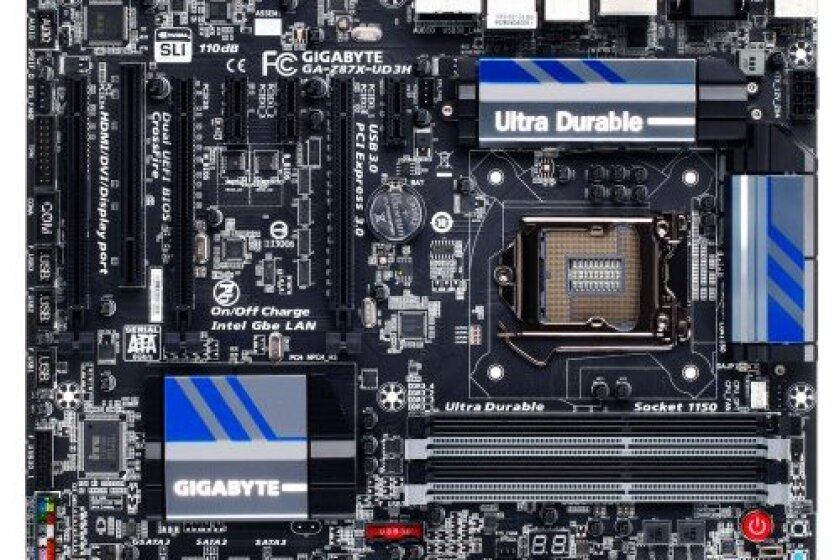 Gigabyte GA-Z87X-UD3H Desktop Motherboard