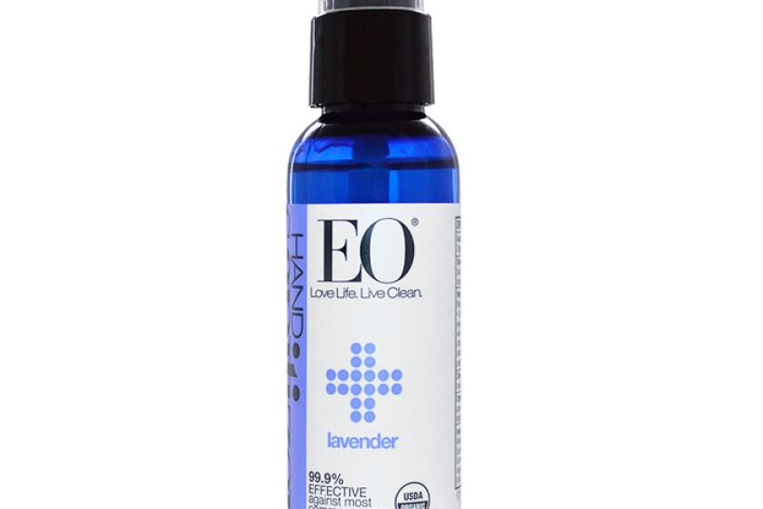 EO Essential Oil Products Organic Lavender Hand Sanitizer