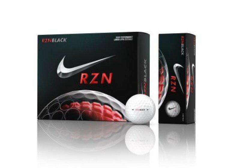 Nike Golf RZN Black Golf Balls