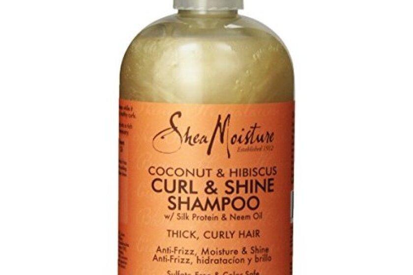 Shea Moisture Coconut Hibiscus Curling Shampoo