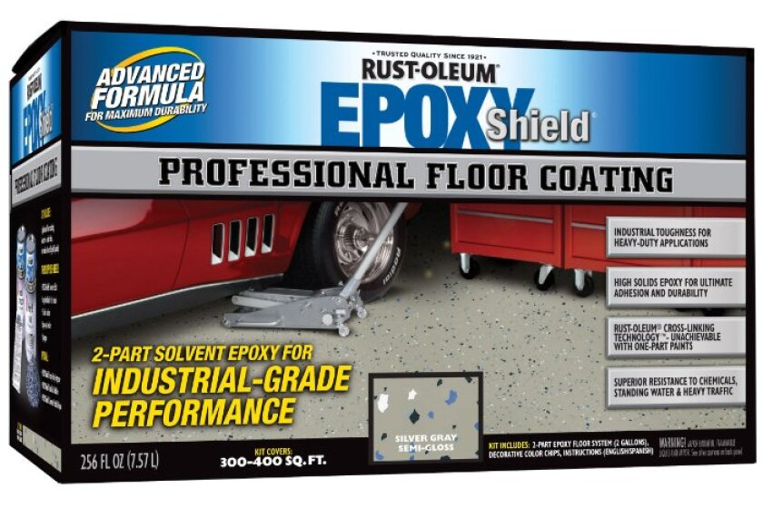 Rust-Oleum 203373 Professional Floor Covering Kit