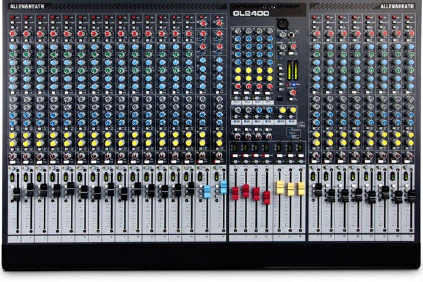 Allen & Heath GL2400 Dual Function Live Sound Mixer
