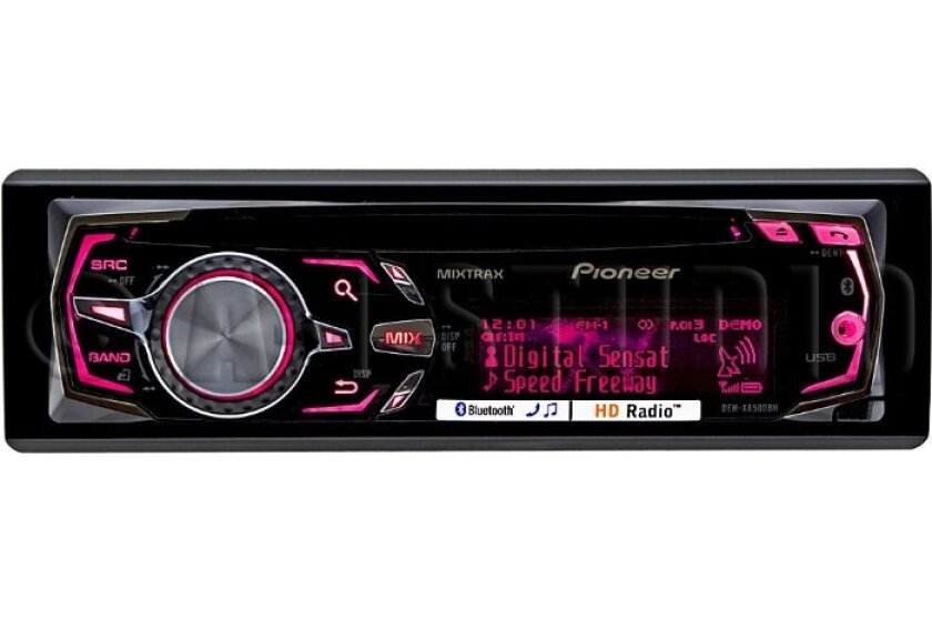 Pioneer DEH-X8500BH Bluetooth Enabled Single-DIN In-Dash CD/MP3 Receiver