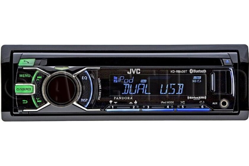 JVC KD-R840BT In Dash CD/MP3 Player