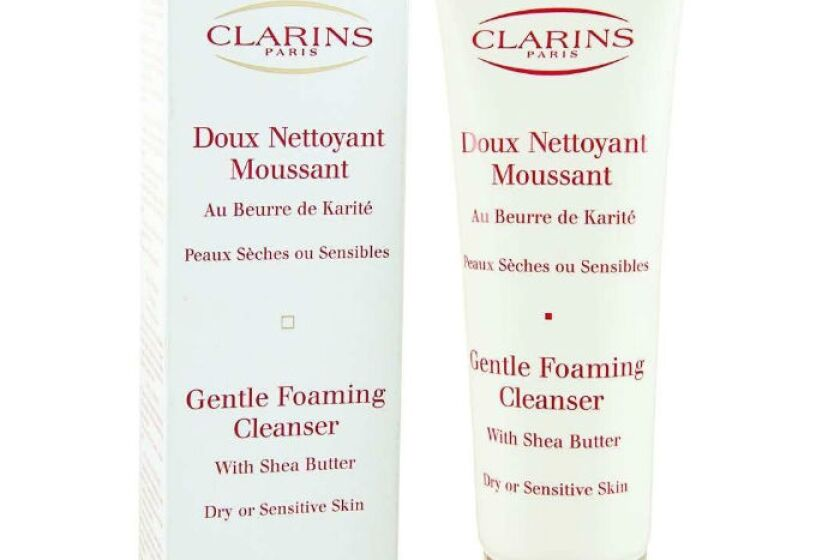Clarins Gentle Foaming Cleanser with Shea Butter