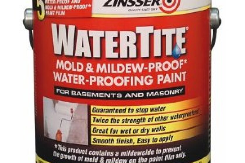 Zinsser Watertite Waterproofing Paint