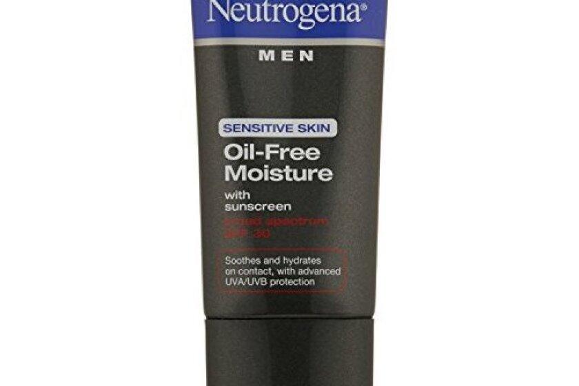 Neutrogena Men Sensitive Skin Oil Free Moisture, SPF 30, 1.7 Ounce