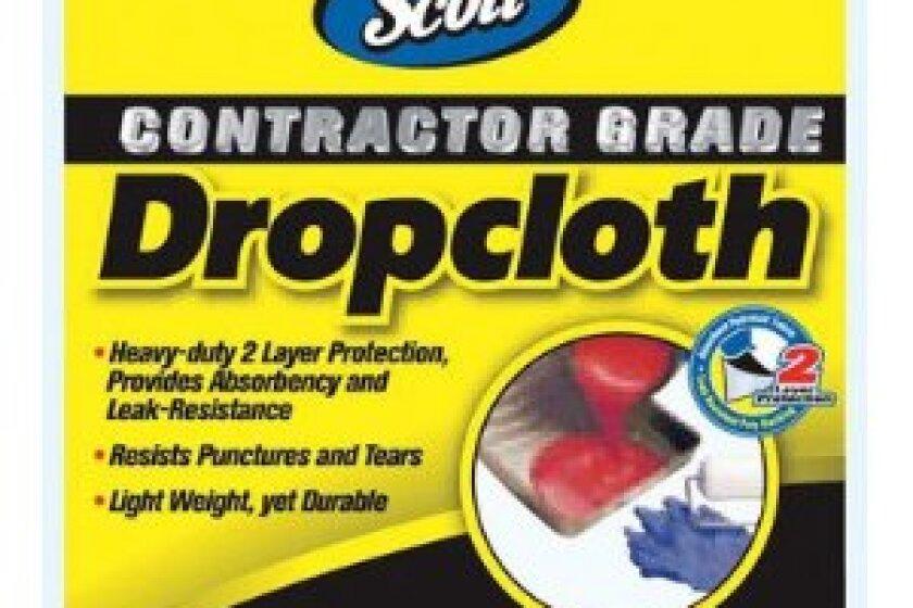 Kimberly Clark/Scott 11657 Diy Bus Contractor Grade Dropcloth 8' x 12'