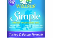 Wellness Simple Turkey and Potato Formula Canned Dog Food