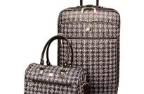 Travelers Choice Victoria II 2-Piece Carry On Fashion Luggage Set