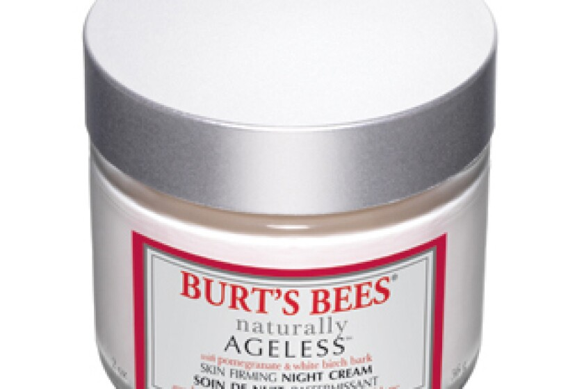Burt's Bees Naturally Ageless Skin Firming Night Creme