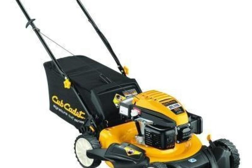 """Lawn Mower. SC100 21"""" 159 cc Gas Walk-Behind Lawn Mower"""