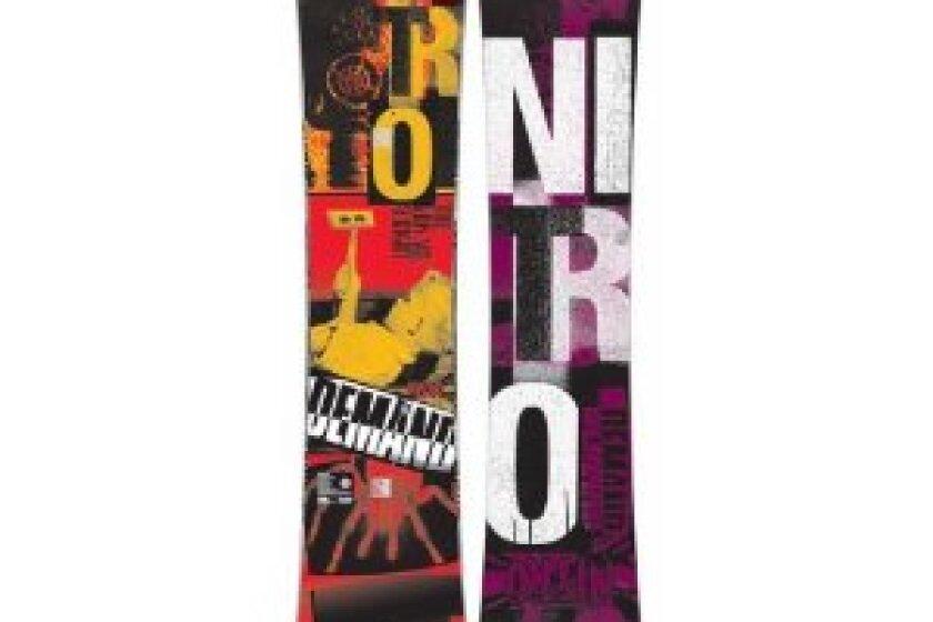 Nitro Demand Kids Snowboard