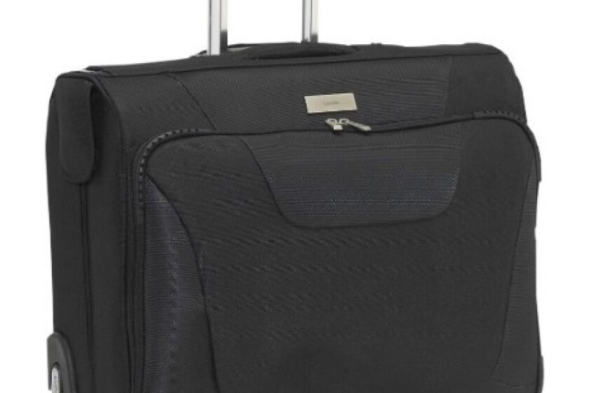 Calvin Klein Luggage Manhattan Wheeled Garment Bag