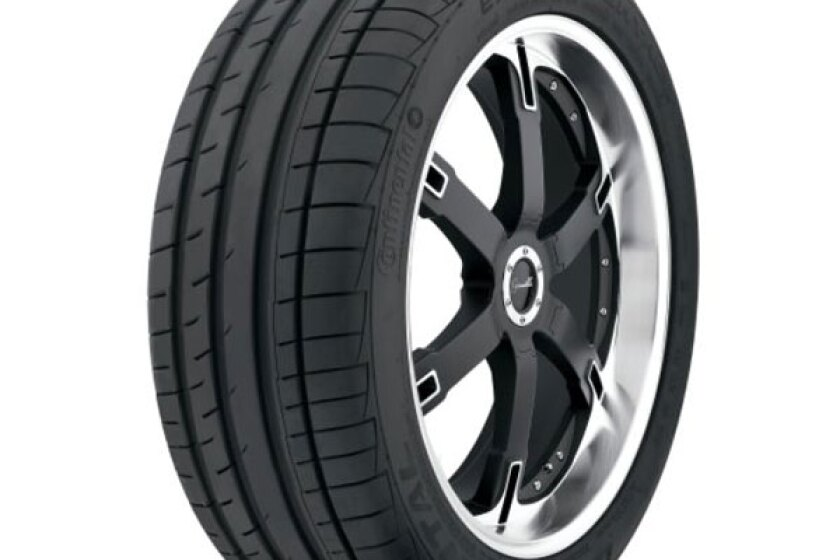 Continental ExtremeContact DW Tire