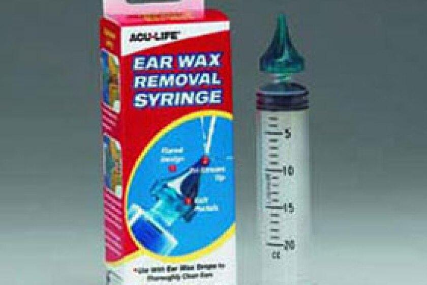 Health Enterprises Ear Wax Removal Syringe