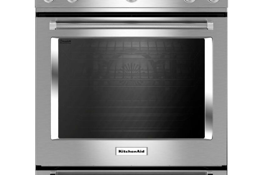 KitchenAid 5.8 Cu. Ft. Sliding Gas Range - KSGG700ESS