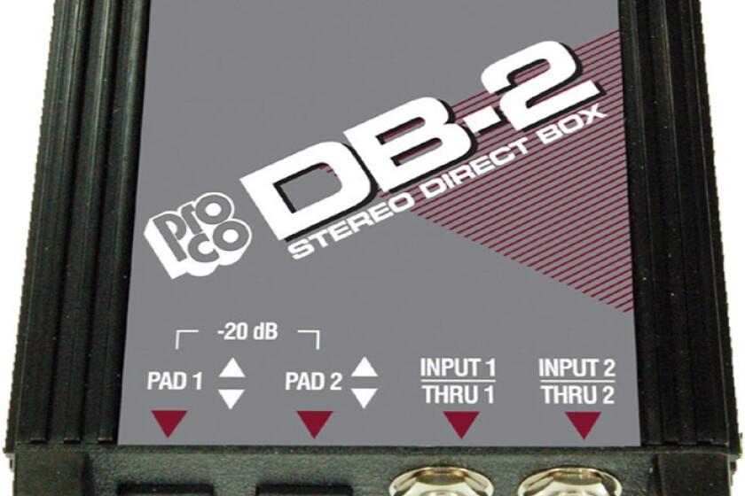 Pro Co DB2 Box