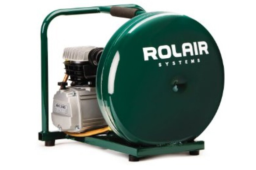 Rolair D2002HPV5 Pancake Compressor