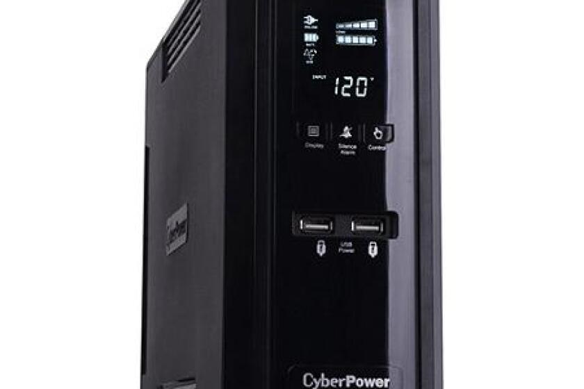 CyberPower CP1350PFCLCD 1350VA 810W 10 Outlet UPS