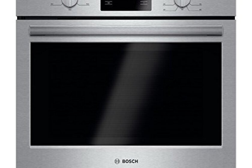 "Bosch HBL5351UC 500 30"" Stainless Steel Electric Single Wall Oven"