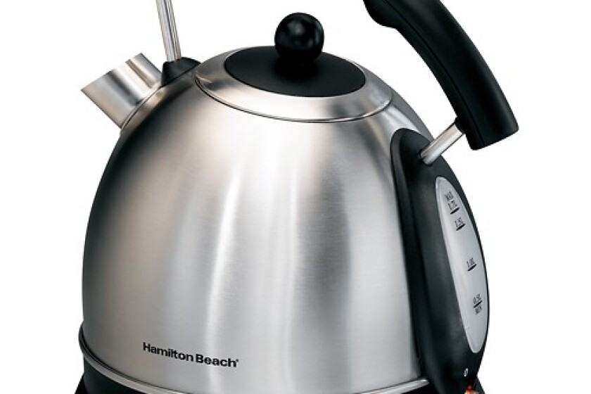 Hamilton Beach 10 Cup Stainless Steel Electric Kettle - 40893