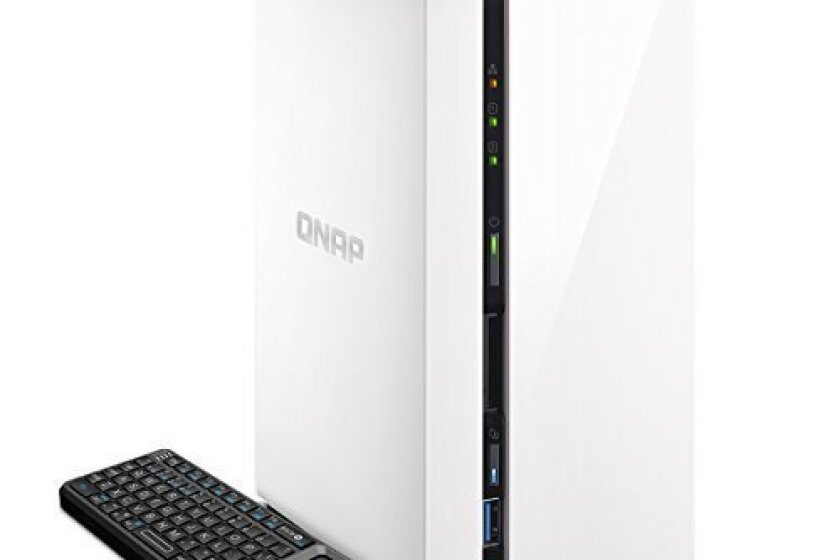 QNAP 2-Bay Personal Cloud NAS - TAS-268