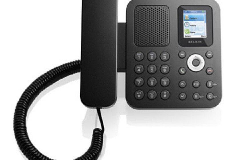 Belkin 1PP010EN-SK Desktop Internet Phone for Skype