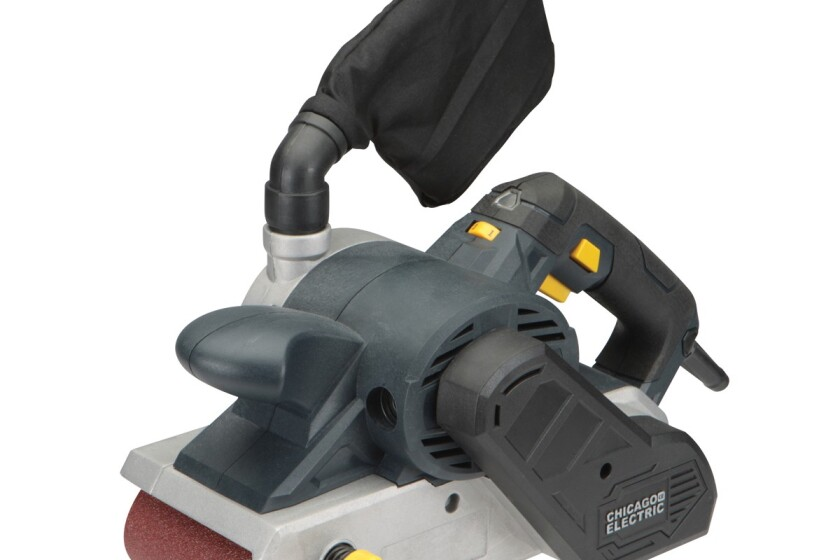 "Harbor Freight 4""x 24"" Variable Speed Professional Belt Sander"