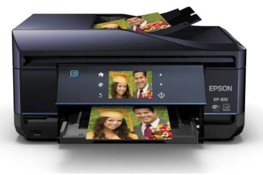 Epson C11CD29201 Expression Premium XP-810 Small Wireless Color Photo Printer