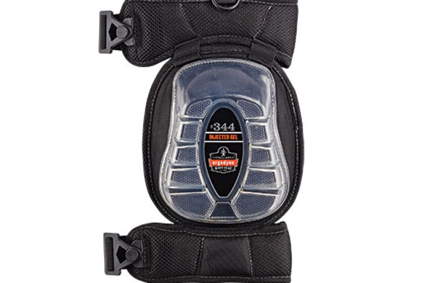 Ergodyne Proflex 344 Broad Cap Injected Gel Knee Pad