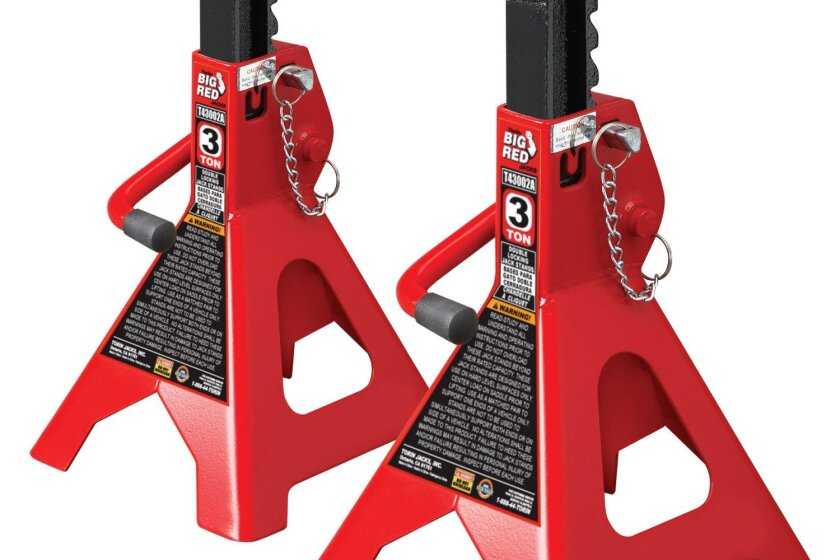 Torin T43002A Double Locking 3 Ton Jack Stands