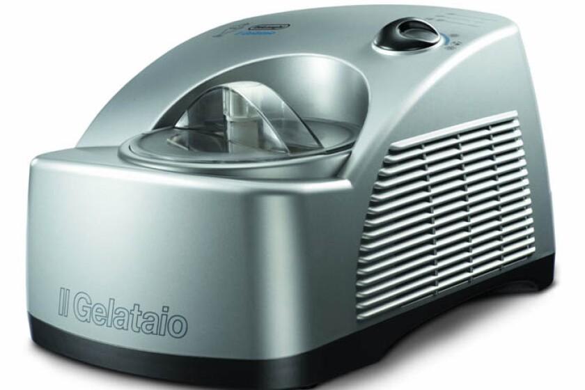 DeLonghi GM6000 Gelato Maker with Self-Refrigerating Compressor