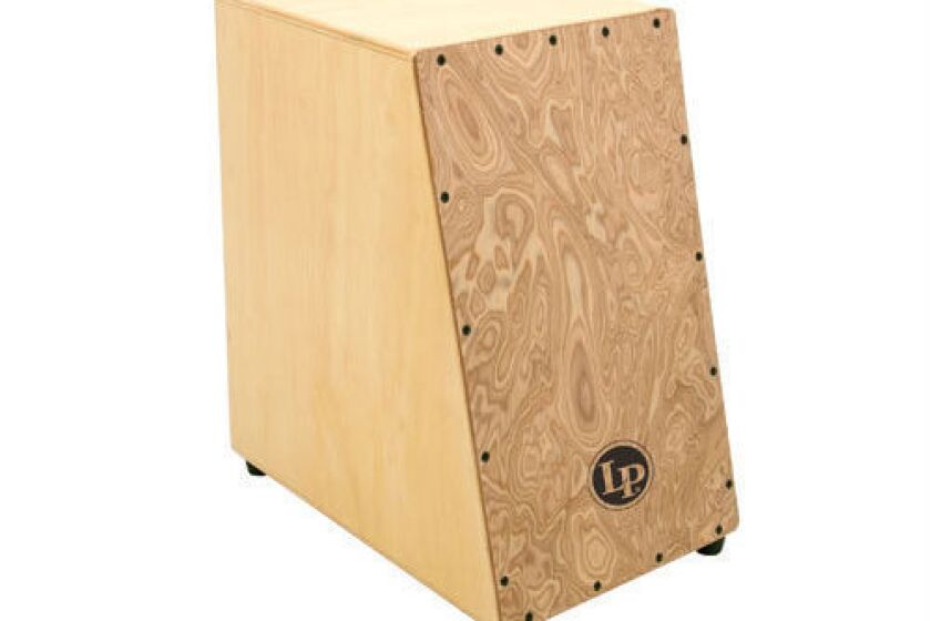 Latin Percussion Angled Surface Cajon