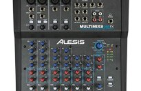 Alesis MultiMix 8 USB FX 8-Channel Mixer with Effects and USB Interface
