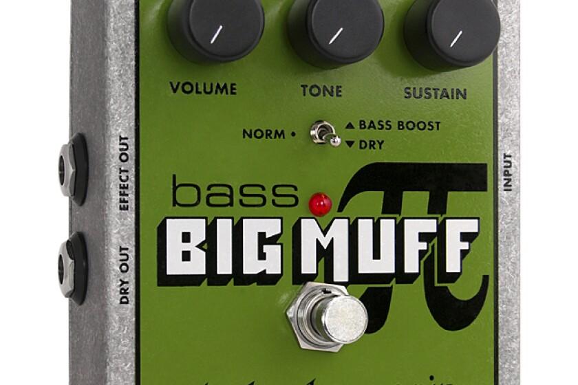 Electro-Harmonix Bass Big Muff Pi Distortion Pedal