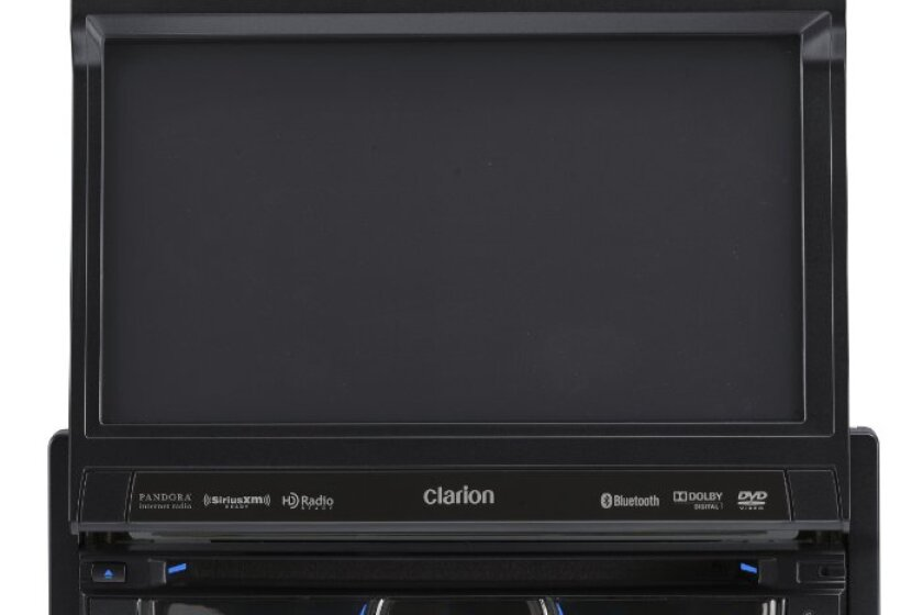 Clarion NZ503 DVD Multimedia Receiver with Built-In Navigation