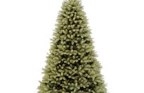 "National Tree 7 1/2' ""Feel-Real"" Downswept Douglas Fir Tree, Hinged (PEDD1-503-75)"