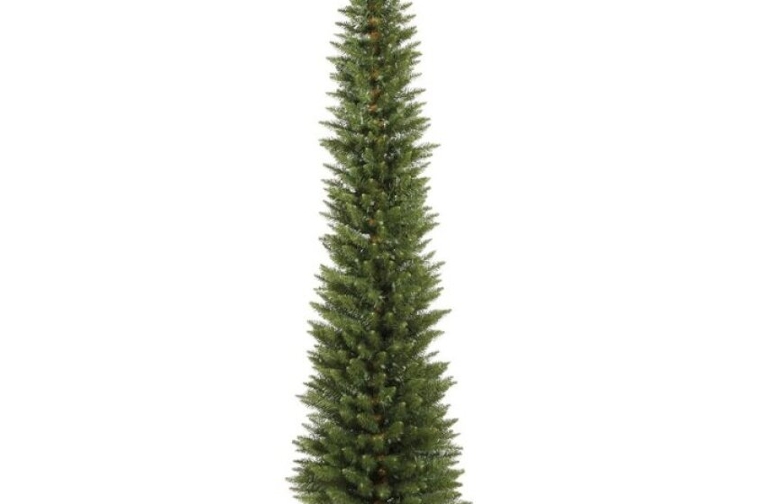 Vickerman 5.5 Foot by 18 Inches Durham Pole Pine Tree