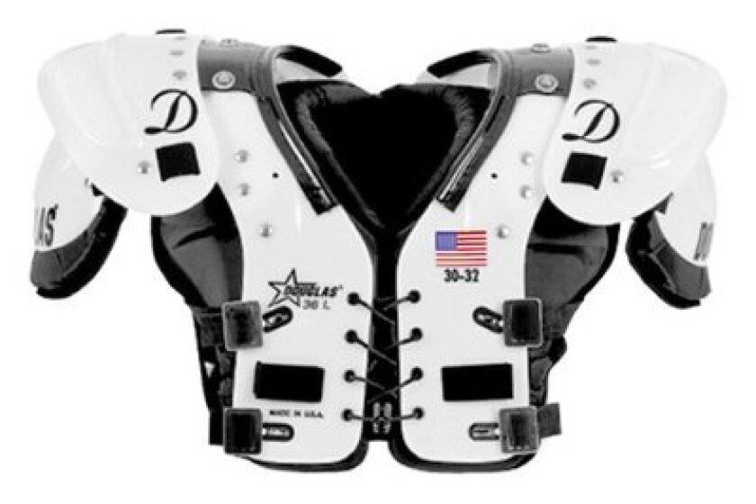 Douglas JP36 Youth All-Position Shoulder Pads