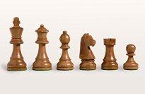 Solid Maple Tournament Staunton Chess Set