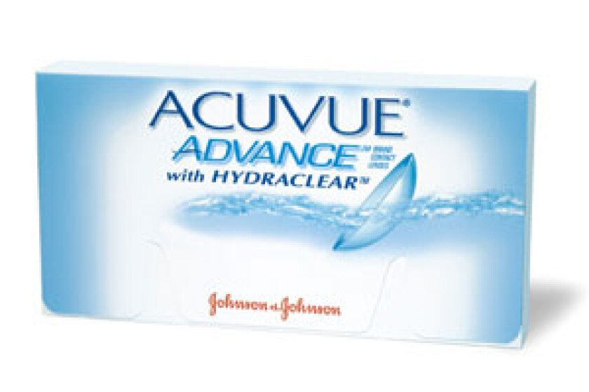 Acuvue Advance Contact Lenses with Hydraclear