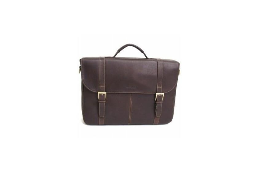 best Samsonite Flapover Leather Portfolio