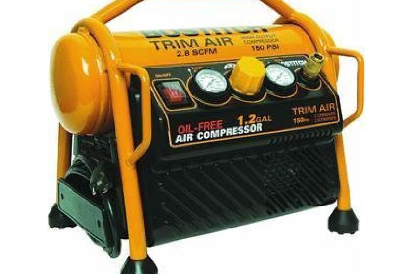 Stanley-Bostitch Bostitch CAP1512-OF 1.2 Gallon Oil-Free High-Output Trim Compressor