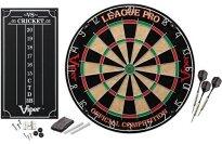 Viper League Pro Sisal Fiber Bristle Dartboard